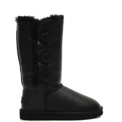 "UGG BAILEY BUTTON TRIPLET BOOT ""BLACK"", 36"