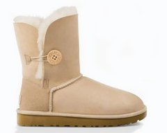 "UGG BAILEY BUTTON II BOOT ""SAND"", 40"